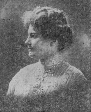 Few photos of Carolyn B. Shelton have survived to this day, aside from some grainy black-and-white profile shots which ran in newspapers more than 100 years ago.