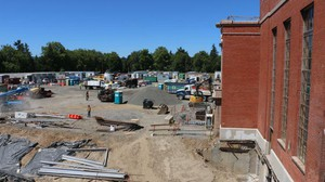 Grant High School in Northeast Portland is currently being rebuilt with 2012 bond funds. The costs of Madison, Lincoln and Benson high schools' remodels are higher than the campaign told voters they would be.