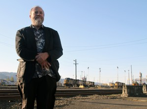 "After nearly 40 years of railroading, Mark Vehrencamp says he's always stunned by what the job let shim see. ""I'll never forget the first time I took the Cascade line. In wintertime it's just gorgeous."" His musical career finds him playing in dozens of ensembles in Portland and Vancouver."