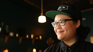 """I get to collaborate with, you know, people that I really care about and like I have been collaborating with over the years."" Photographer-turned-coffee bar owner Ro Tam, of Portland's Either/Or Coffee and Tanglewood Beverages."