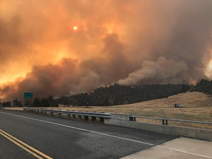 The Klamathon Fire which started July 5, 2018, is burning its way along the California-Oregon border.