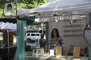 Rachel Fowler, an aromatherapist who sells essential oil products at the Portland Saturday Market downtown, said this weekend was a return to normalcy for the market.