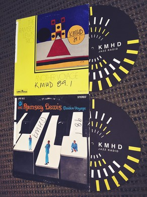 Records: Maiden Voyage by Ramsey Lewis Trio, 1968 & Another Voyage by Ramsey Lewis Trio, 1969