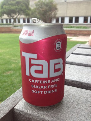 Tab: a taste sensation that's no longer sweeping the nation.