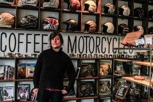 Rebecca Gates prefers non-motor-powered cycling, but appreciates the spirit and energy of See See Motor Coffee Co.