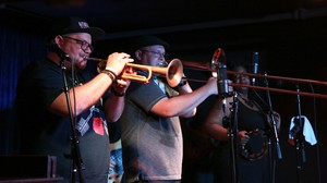 """Trumpeter Farnell Newton will be taking the stage at The Jack London Revue June 10 to celebrate the release of his new album, """"Back To Earth."""""""