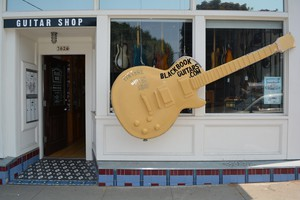 Since 2012, Black Book Guitars has specialized in rare and vintage guitars, basses, amps and auxiliary equipment.