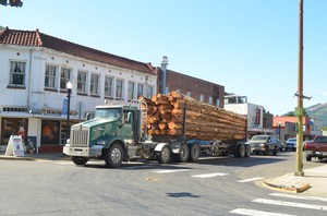 Morton, Wash., was once a booming logging town.