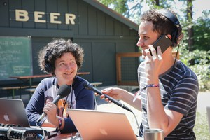State of Wonder's April Baer and Aaron Scott reporting live from Suttle Lodge in Sisters, Oregon.