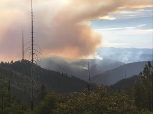 The Chetco Bar Fire reached 53 percent containment as of Sept. 18, 2017.