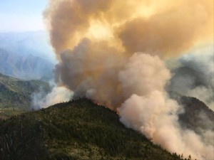 The Chetco Bar Fire remained relatively quiet for its first month before exploding into Oregon's largest wildfire.