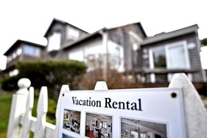 Vacation rentals, including many listed on Airbnb, are common in Cannon Beach.