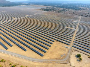 The Gala Solar Power Plant in Crook County produces enough electricity to power approximately 14,000 homes.