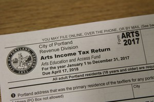 Collections have increased on Portland's arts tax over the years, however officials estimate that hundreds of thousands of accounts are still delinquent.