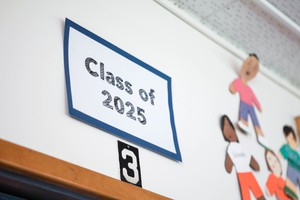 The Class of 2025 was in fourth grade during the 2016-17 schoolyear.