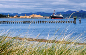 The pipeline would terminate north of Coos Bay at a proposed LNG plant at Jordan Cove.