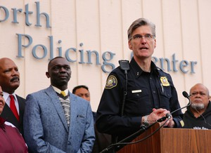Portland Police Chief Mike Marshman says it would be illegal for his officers to enforce President Trump's new immigration orders.