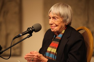 Le Guin's work pushed narrative boundaries, and lit up new ways of thinking about gender, race, and politics.