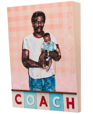 """""""Coach"""" is Davis' homage to his father, a respected high school basketball coach. """"There's an idea I was trying to get across that he was our life coach."""""""