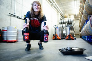 Sheri Hood, former band manager and record exec, is now winemaker at The Pressing Plant.