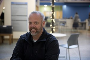 """Lt. David Natt heads up bias crimes and documentation for the Eugene Police Department. He said the city's approach to documenting hate crimes and bias incidents helps. """"We still get the opportunity in the community to recognize that we've had this event,"""" he said."""