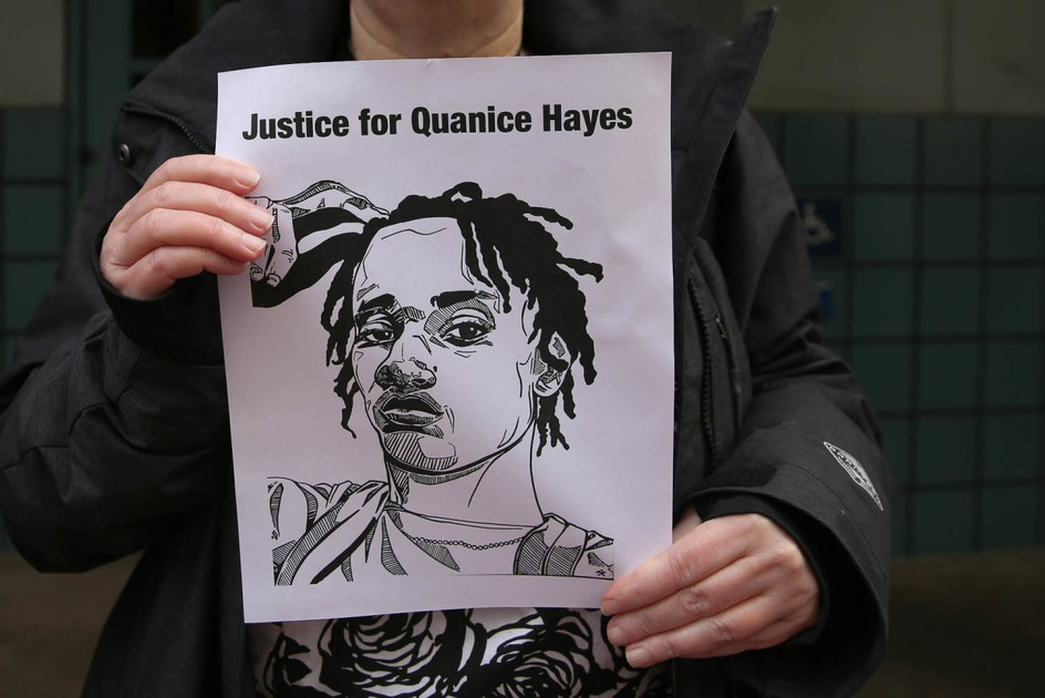 Family Of Quanice Hayes Sues Portland Police . News | OPB