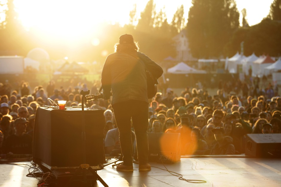 Jeff Tweedy performs at THING festival, 2019