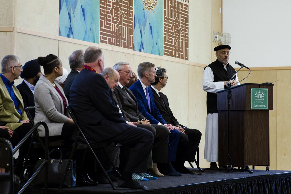 Muslim Educational Trust president and co-founder Wajdi Saidspeaks at the Muslim Educational Trust in Tigard, Ore., March 15, 2019.