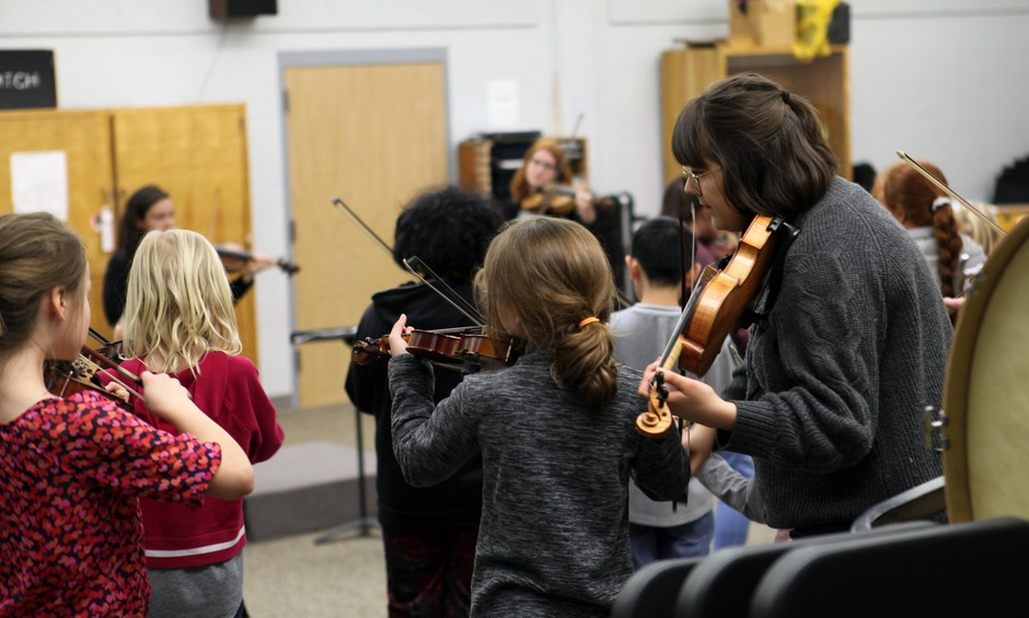 Pendleton Schools' tradition of string education has created a life-long musical relationship for hundreds of players.