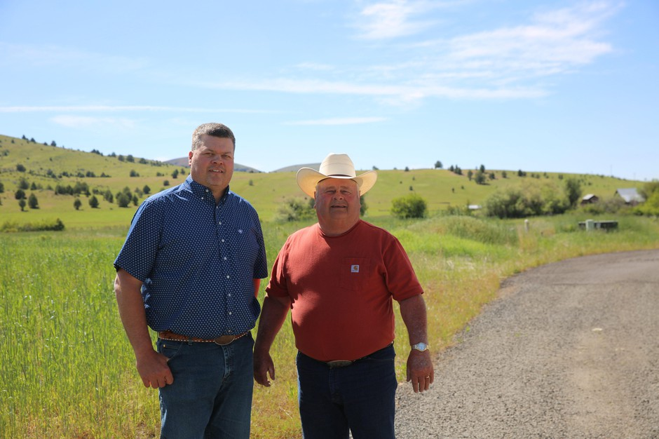 Will Homer and his father, Merton Homer, own and operatePainted Hills Natural Beef in Fossil, Ore.
