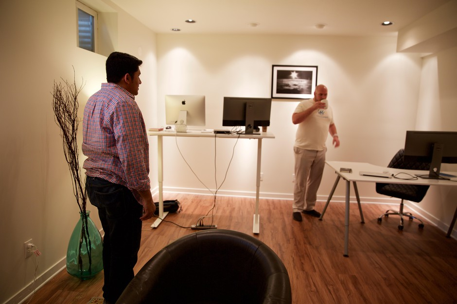 Mindcurrent is being developed in a converted basement in Beaverton, Oregon.