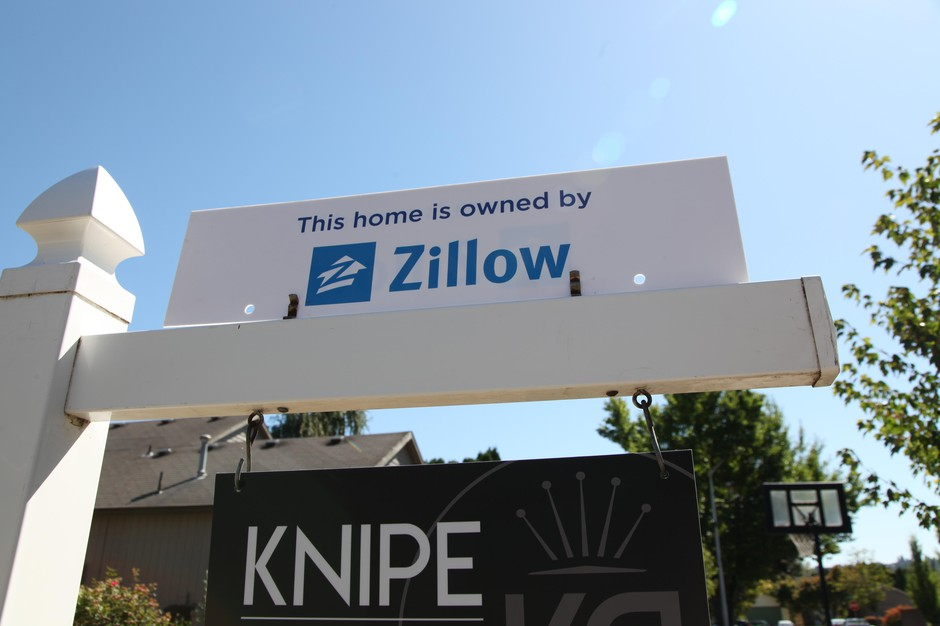 Beaverton, Ore., August 27, 2019. This was one of the first homes in the Portland area that Zillow purchased as part of its new business buying and selling houses directly.