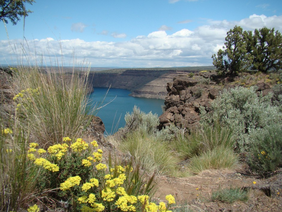 Lake Billy Chinook is pictured June 2, 2012, near Culver, Ore.