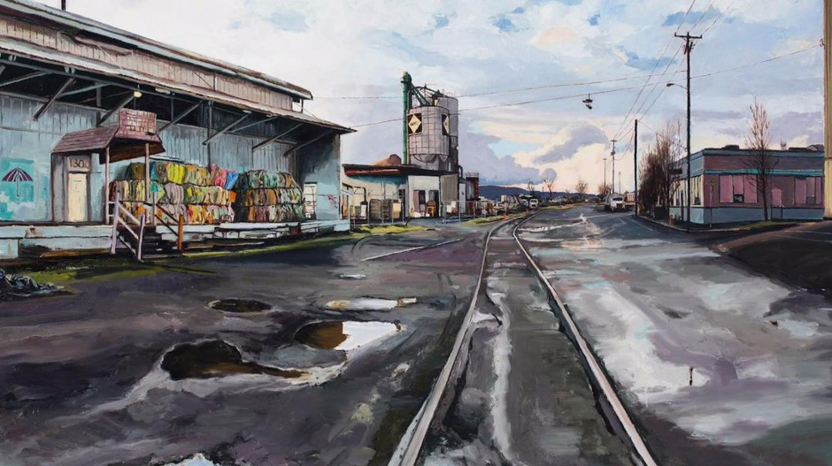 After years of painting his urban muse, Hardy's images of Portland have taken on a new meaning as they've become a chronicle of a rapidly changing landscape.