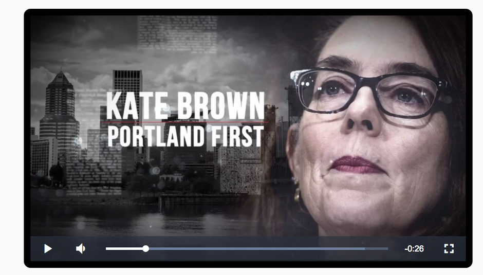 "Screenshot from a 30-second TV ad paid for by the ""Knute Buehler for Governor"" campaign."