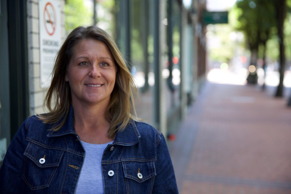 "Melissa Bishop, a hiring manager at Portland's homeless organization 'Central City Concern,' says waiting for background checks is frustrating, ""We offer them the job, they're really excited and then they either start the job or are waiting to start the job and then find out that their background has held them back once again."""