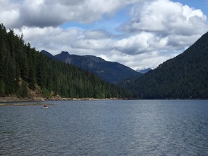 Kachess Lake in Washington's Cascade Mountains.